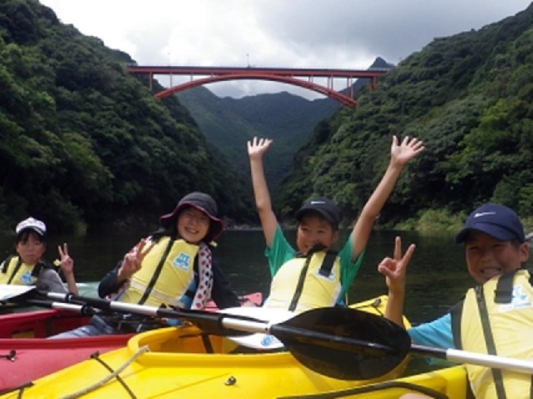 Relaxing Anbou River Kayaking Tour of Yakushima