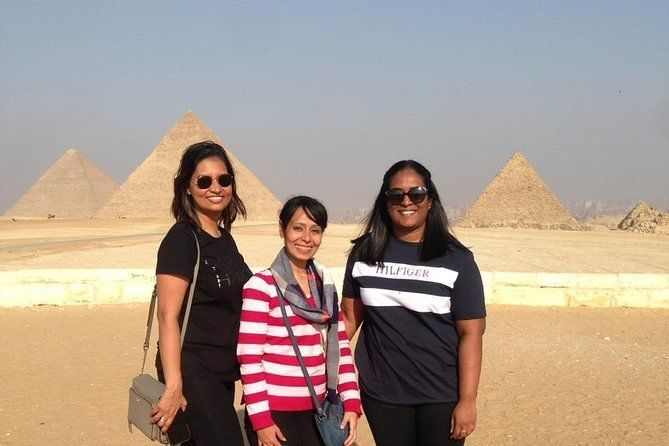 8-Hours Day Tour Giza Pyramids, Memphis and Sakkara with Camel Ride and Lunch