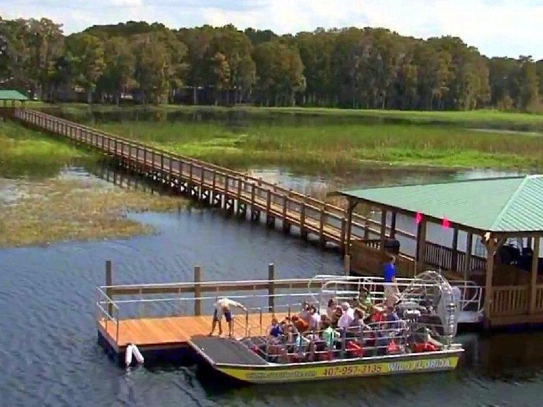 Everglades Airboat Ride Adventure & Wild Florida Admission