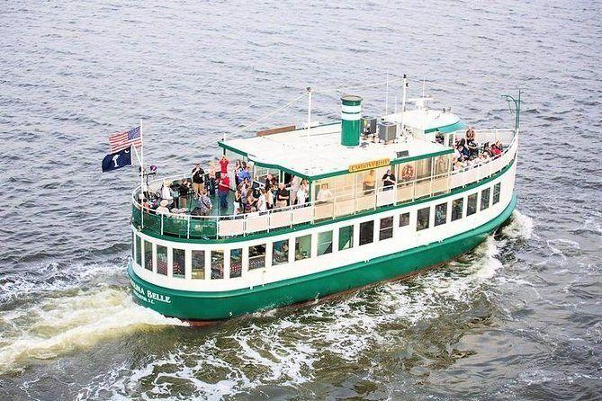 Charleston Harbor History Day-Time or Sunset Boat Cruise