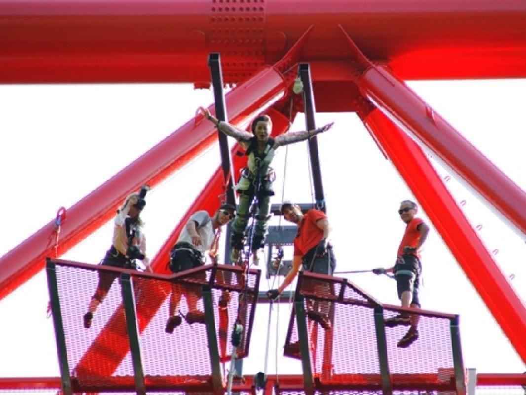 All Season Bridge Bungy Jump in Sarugakyo