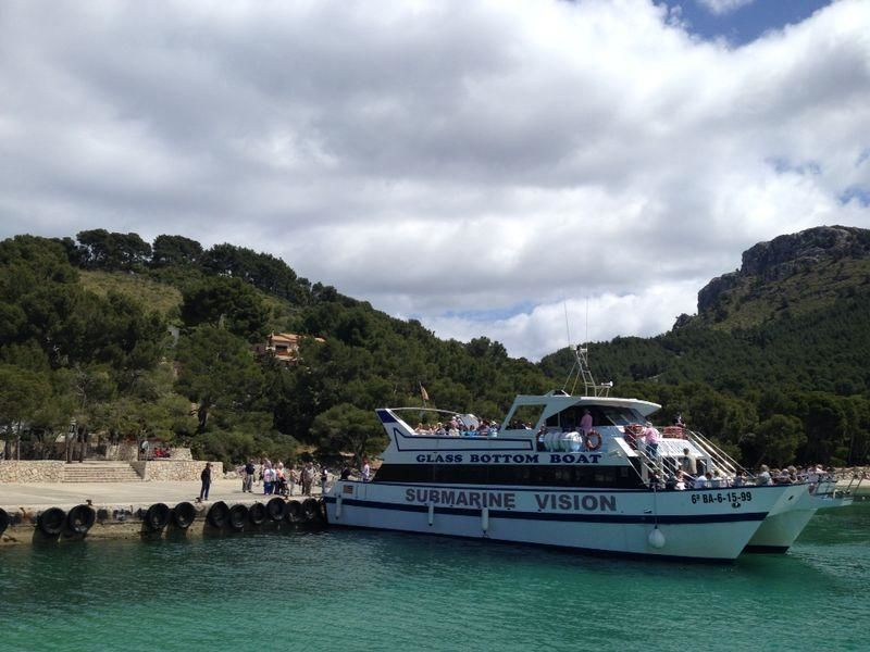 Excursion north coast Mallorca: boat trip to Formentor