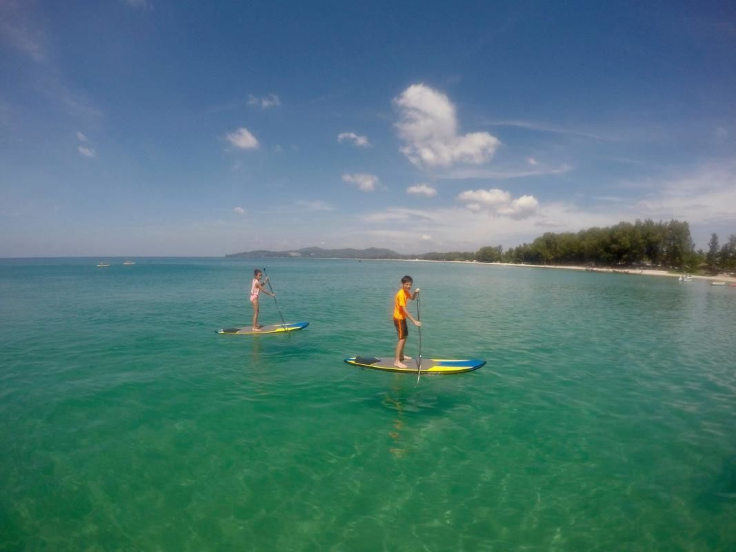 Full Day Phuket SUP Boarding Tour with Snorkeling and Sunset Dinner