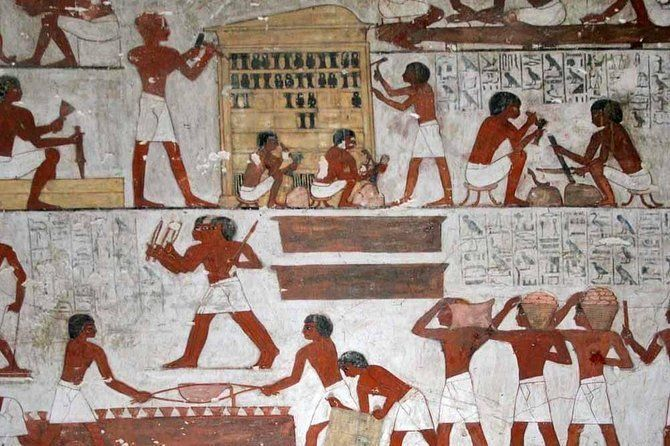 Tour to Ramesseum, Habu Temples, and the Valley of the Nobles