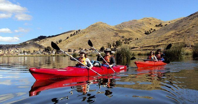 With Kayaks to Uros- Amantani - Taquile (2d -1n) Titicacalake