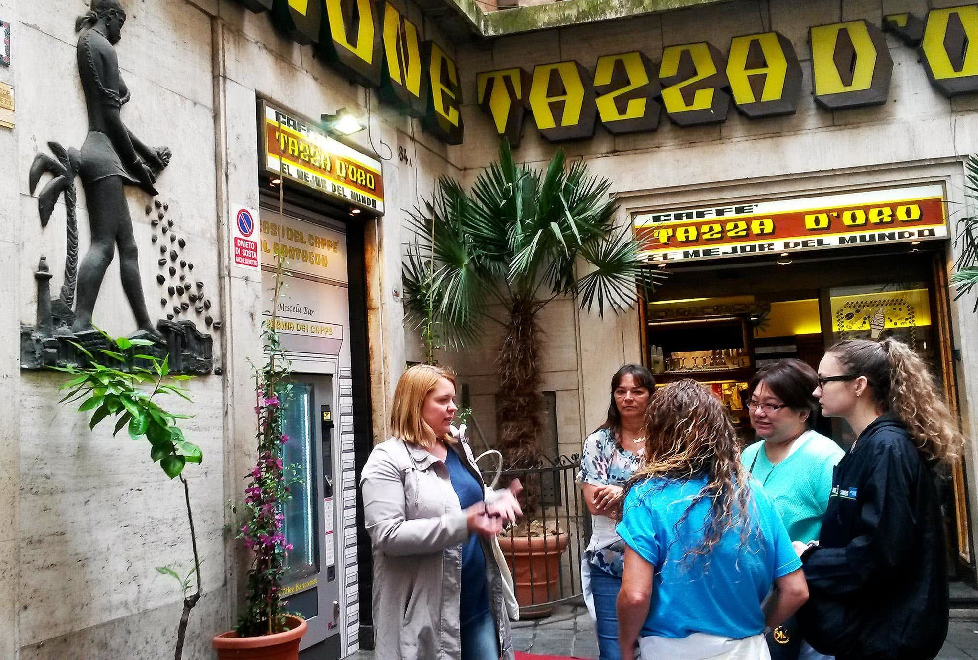 Rome Espresso and Desserts Food Crawl - Small Group Tour