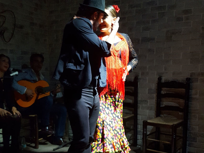Alicante: Paella Lunch and Live Flamenco Show Combo