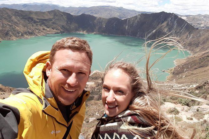 Quilotoa Crater Lake and Indian Market Private Tour