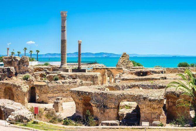 Tunis Full-Day Group Tour: Carthage, Sidi Bou Said, Bardo Museum and Medina