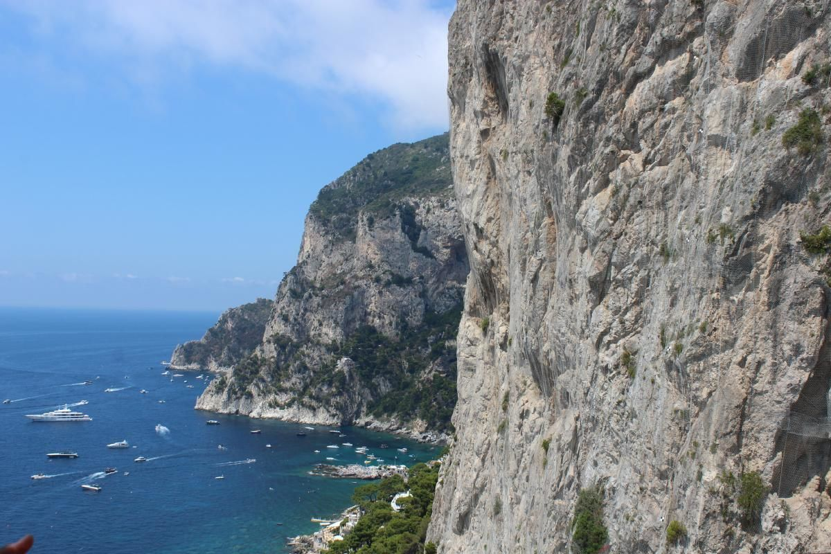 Capri Island Day-Trip from Naples by High Speed Ferry with Optional Blue Grotto