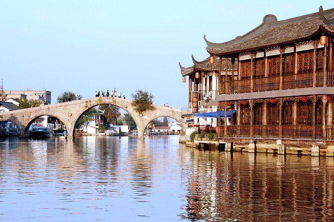 Zhujiajiao Water Village Half Day Coach Tour from Shanghai with Boat Ride