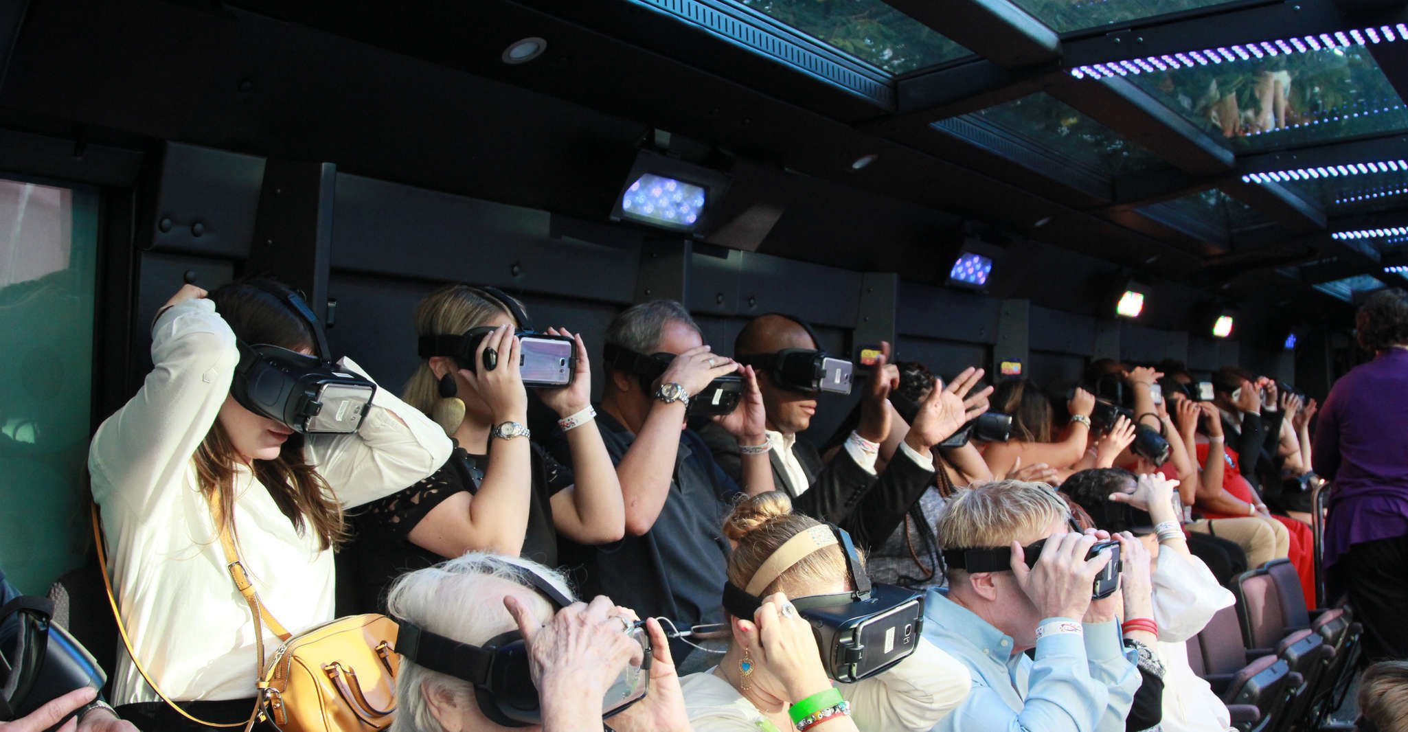 New York City: Downtown Virtual Reality Bus Tour