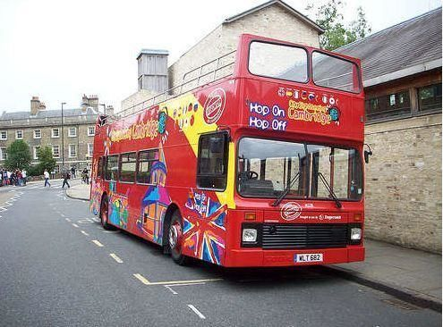 City tour Cambridge Hop-on/ Hop-off City Tour - 24h ticket