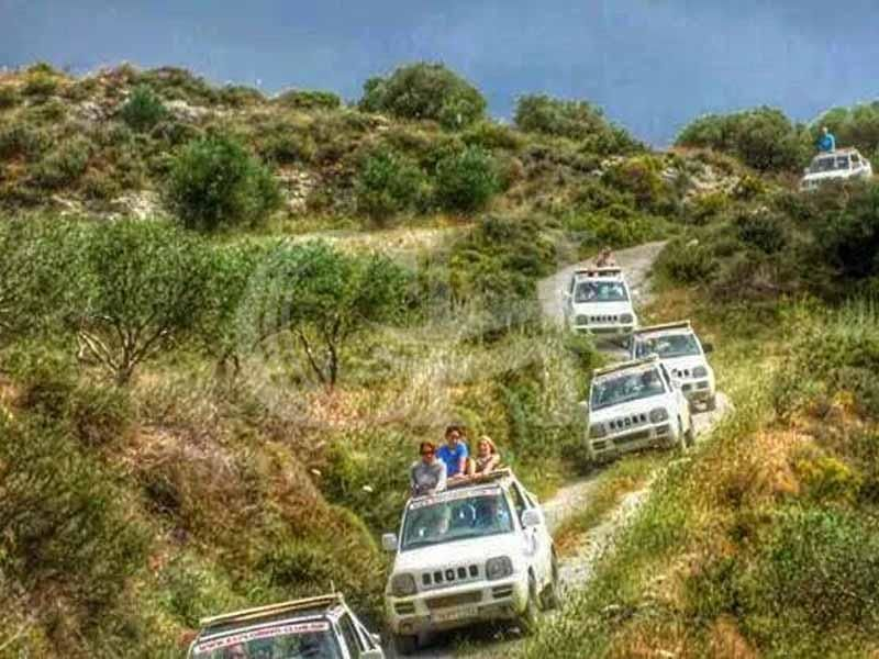 Jeep Safari: Day trip through the mainland of Crete