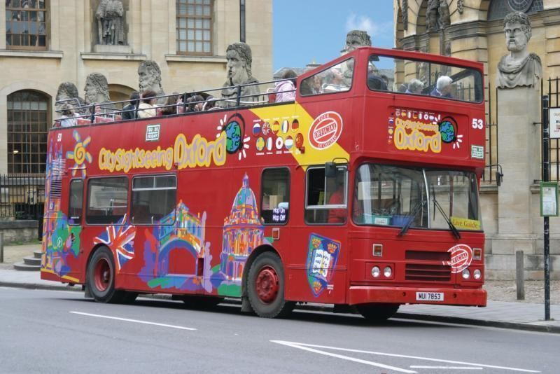 City tour Oxford Hop-on/Hop-off Tour - 24h and 48h ticket