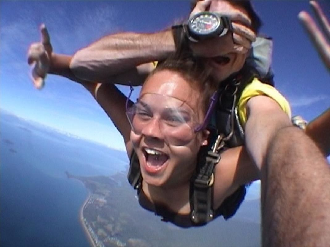 York Tandem Skydiving Experience with Transfers from Perth