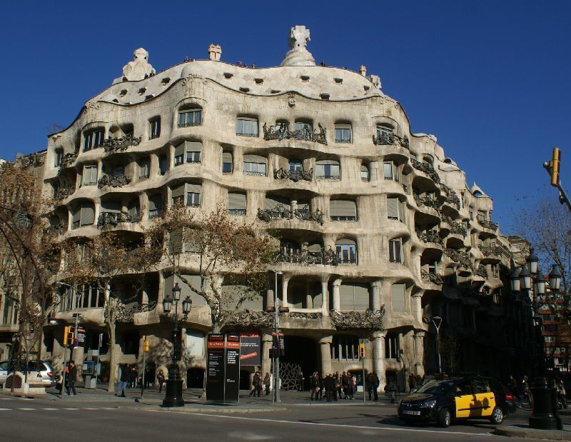 La Pedrera (Casa Milà) Tickets and a Spanish Lunch