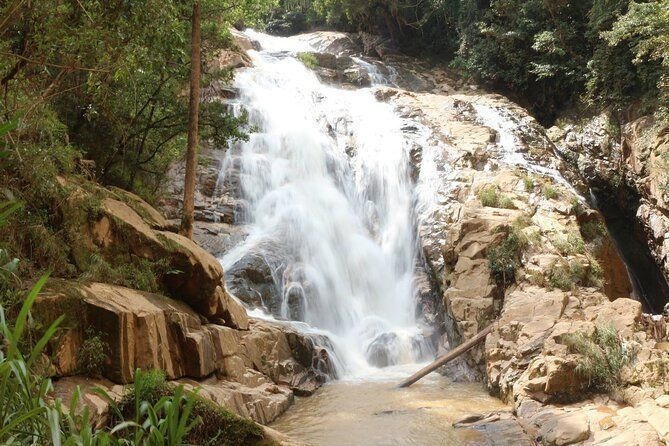 Full day Dalat Tiger's cave falls trekking tour