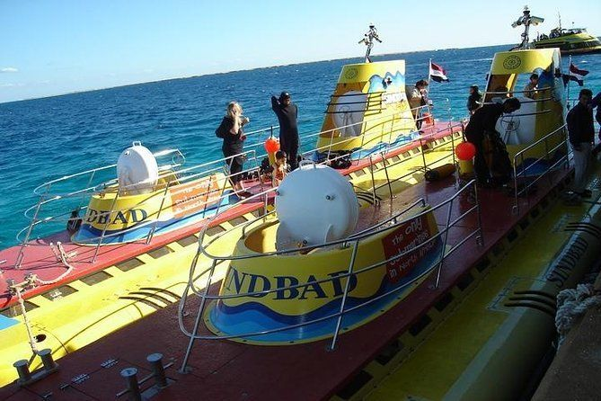 50 Minute Submarine Journey in the Red Sea Including Transport from Hurghada