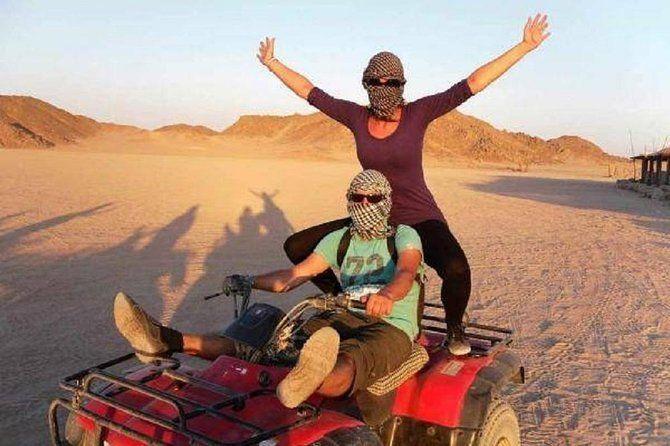 Morning Quad Bike Desert Safari excursion From El Gouna