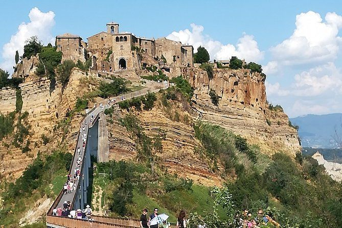 "From Civitavecchia: Orvieto and the dying City "" Civita di Bagnoregio"""