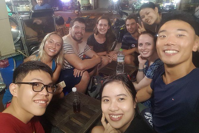 SECRET street FOOD TOUR by locals ( walking and meet new friends )