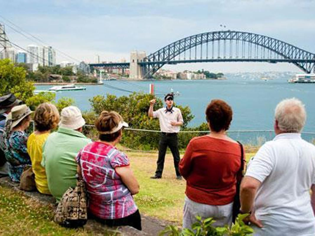 Sydney Harbour Cruise and Goat Island Convict History Tour with Buffet Lunch