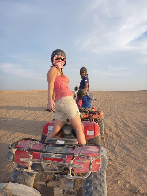 Quad Bike Tour with Camel Ride