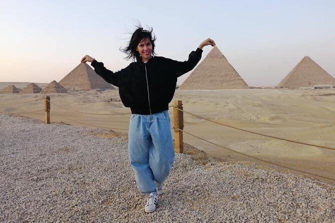 Private Half-Day Trip Giza Pyramids and 45 minute Camel-Riding