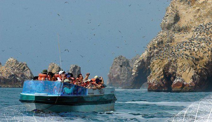 Paracas, Ballestas Islands and Tambo Colorado from Puerto San Martin