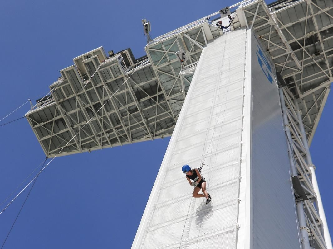 AJ Hackett Sentosa Bungy Jump, Giant Swing and Skybridge