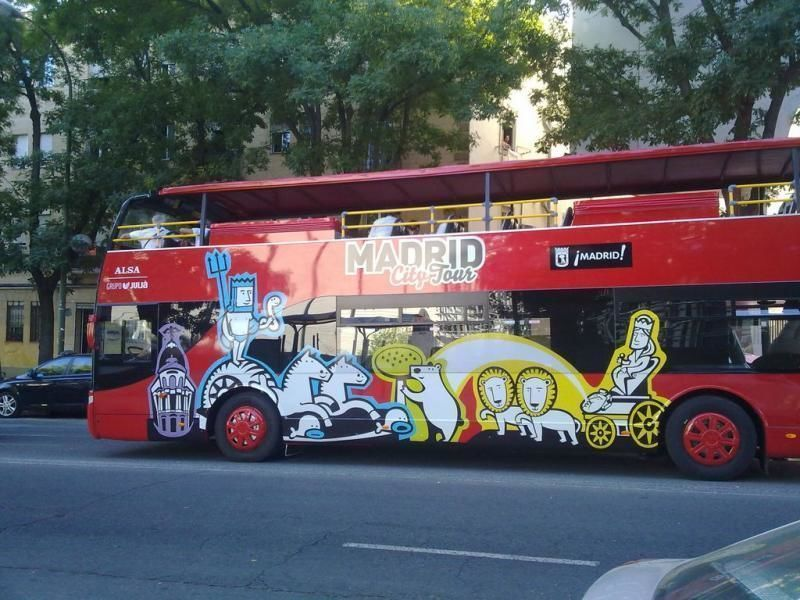 City Tour Madrid - Hop-On/ Hop-Off Tour - 24 & 48 hour ticket