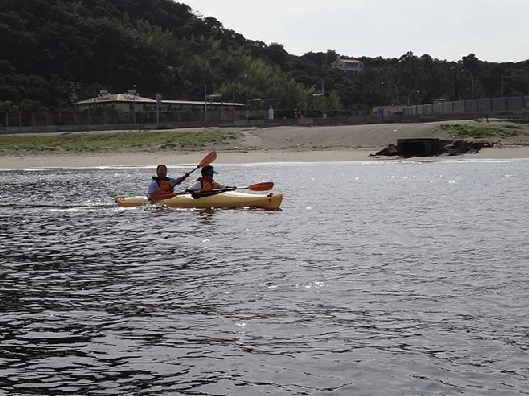 Sea Kayaking Tour in the Naruto Kaikyo Channel in Tokushima