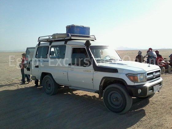 Jeep safari trip to the Sahara Park Hurghada