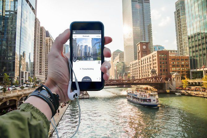 Chicago Riverwalk & History Tour - Self-Guided Walking Tour (iPhone & Android)
