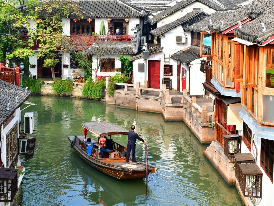 Zhujiajiao Village and Qibao Seven Treasures Town Day Trip from Shanghai
