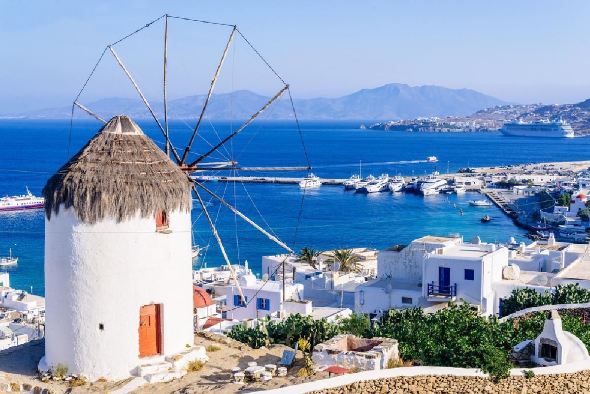 Mykonos 4-Day Excursion from Athens with Accommodations and Ferry Tickets