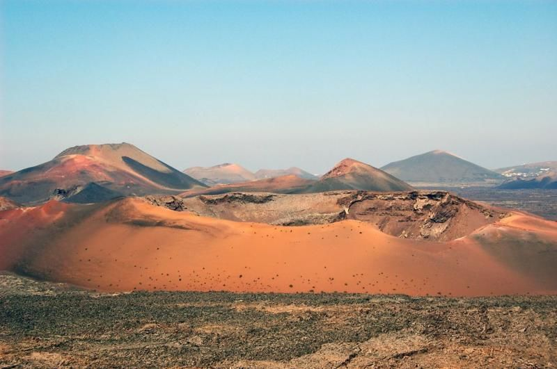 Half day Lanzarote excursion - South tour Fire Mountains