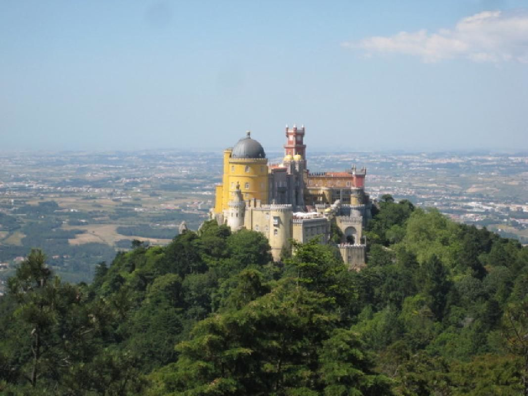 Sintra and Cascais Private Full-Day Tour from Lisbon with Pena Palace Admission