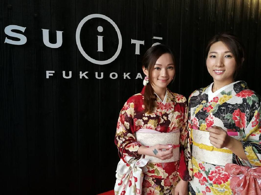Kimono Rental and Dress Up Experience in Fukuoka
