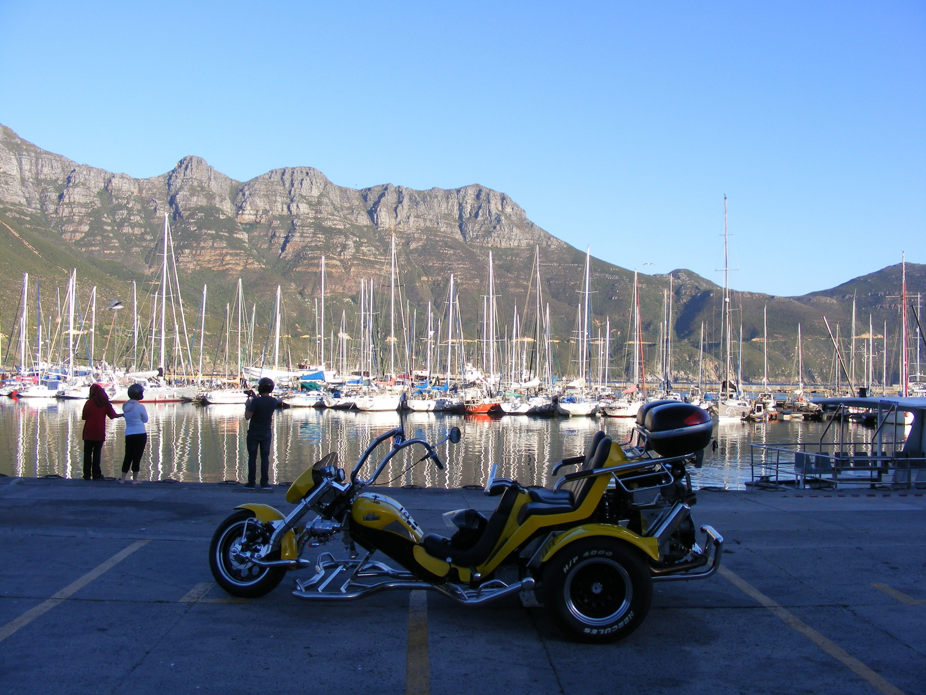 Romantic Chapmans Peak sunset tour by trike.