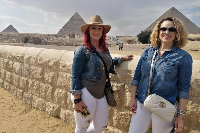 4 Hours Private VIP Tour Giza Sphinx Pyramids With Lunch,Camel Ride and Shopping