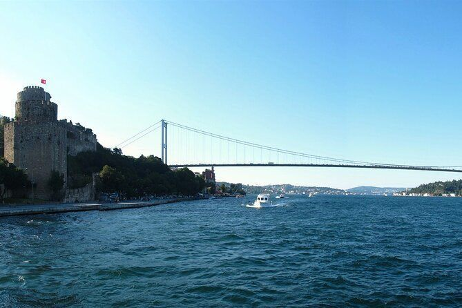 Golden Horn and Bosphorus Boat Tour in Istanbul