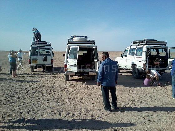 Hurghada Quad Bike Safari Trip to Sahara Park