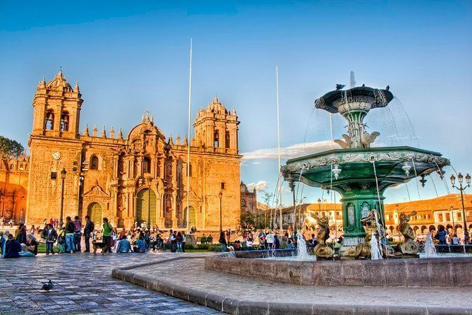 Cusco City And The Inka Temples