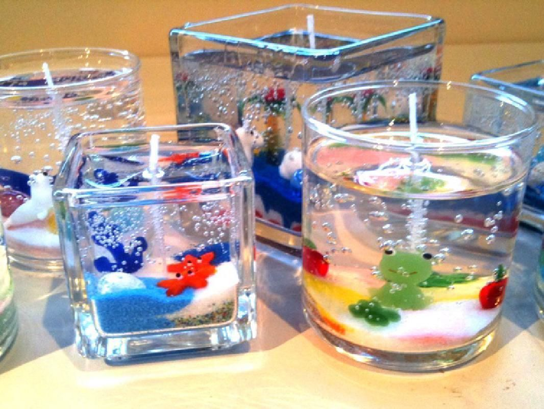 Half Day Clear Candle Making Lesson in Karuizawa