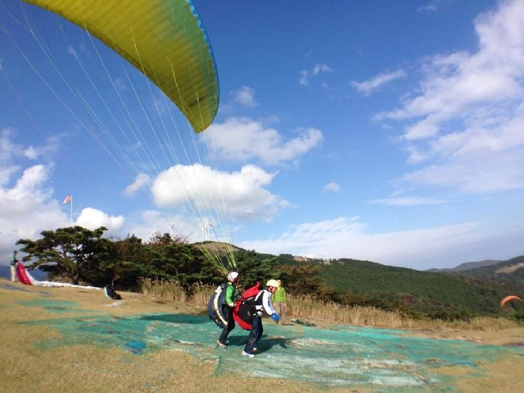 Float in the Sky on a Half Day Paragliding Adventure