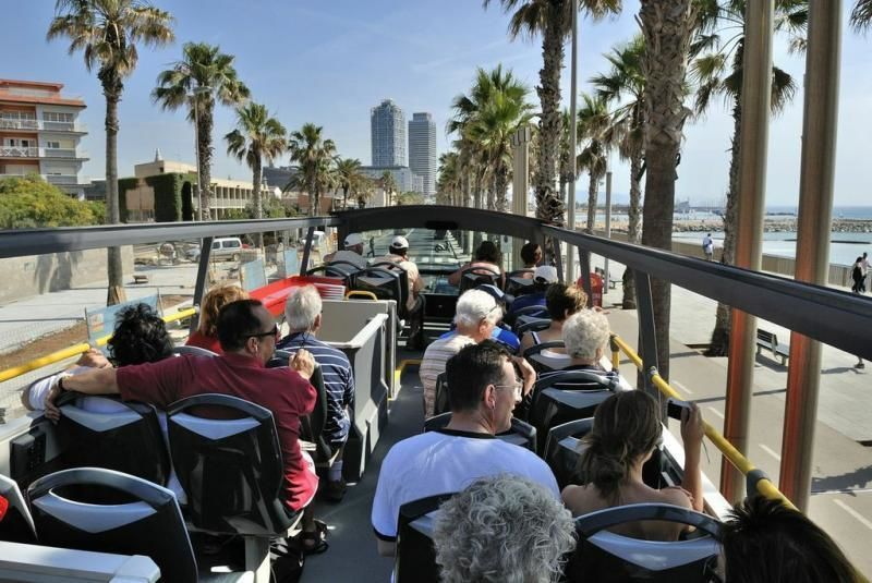 Hop-on Hop-off Barcelona City Tour - two-day-ticket