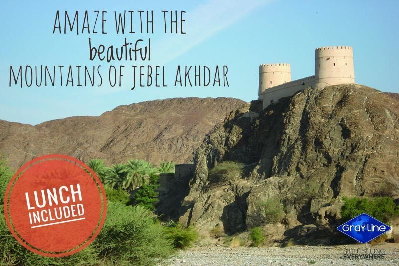 Jebel Akhdar Full Day Tour With Lunch (4X4) Muscat - Private Service