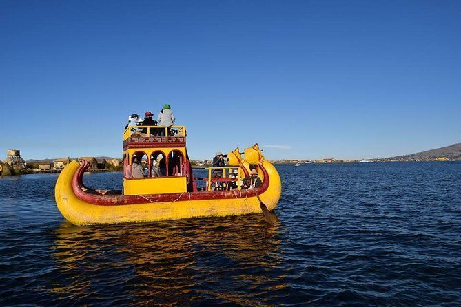 Half-Day Boating Tour to Uros from Puno